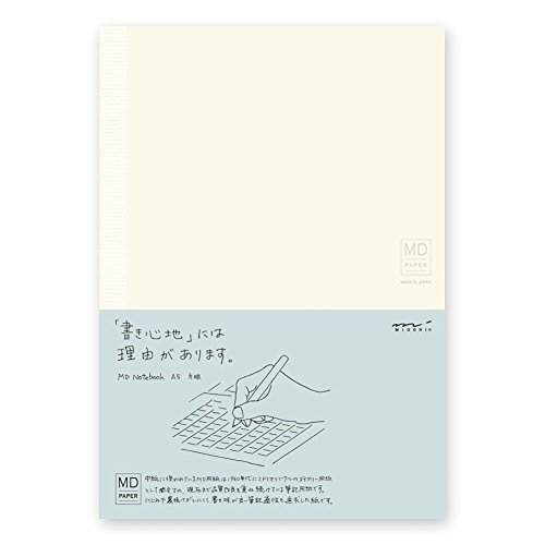 Midori MD Notebook - A5 Grid Paper by Midori -