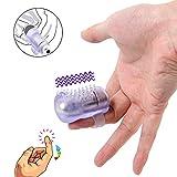 Vibromasseur de doigt pour femmes Masseur clitoris Mamelon Vibrant,Préliminaires Sex-toys pour couple de femmes
