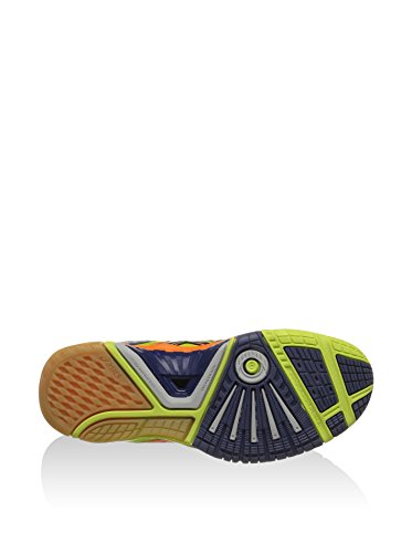 Asics Sneaker Gel-Blast 5 Lime/Arancione/Blu Navy