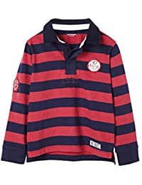 Vertbaudet Poloshirt für Jungen, Lange Ärmel