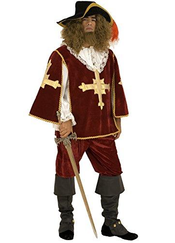 Kostüm Musketier Herren - Mousquetaire Kostüm