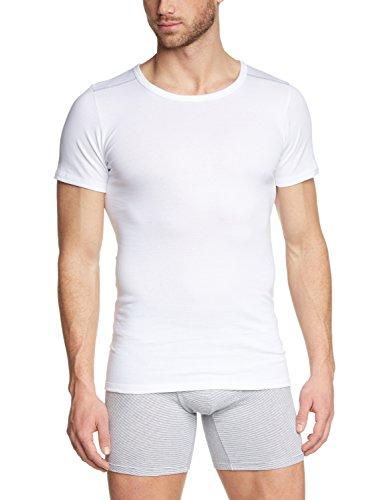 Otto Kern Underwear Herren Unterhemd American Shirt 1/2 Arm Rundhals Weiß (Weiss 1)