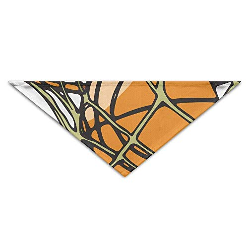 Gxdchfj Cartoon Basketball Triangle Pet Scarf Dog Bandana Pet Collars Dog Cat - Birthday