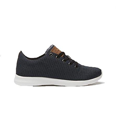 Woden, Sneaker donna Grigio grigio, Grigio (Grey/Black), 36 EU