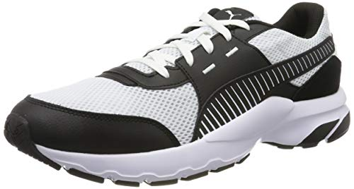 Puma Future Runner Premium, Zapatillas Unisex Adulto, Blanco (Puma White-Puma Black 04), 36 EU