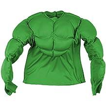 Widman - Disfraz de Hulk para niño, talla M (8 - 10 años) (12587)