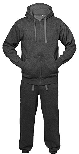 Herren Trainingsanzug Sweat Hosen & Hoodie Set