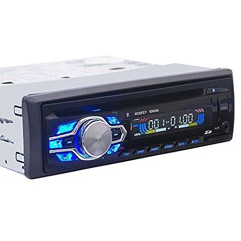 Zetong Autoradio CD/DVD un lecteur DVD port moniteur télécommande connexion