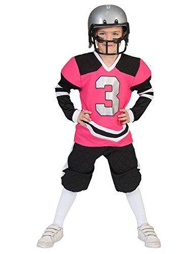 Kostüm Footballer Haley Kind Größe 140 Kinderkostüm Jungenkostüm American Football Spieler Fußball Pierro\'s Kostüm