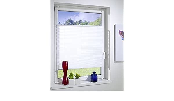 Pleats Clamp fix Without Drill braced Fold Blind Easy Blinds Window /& Door