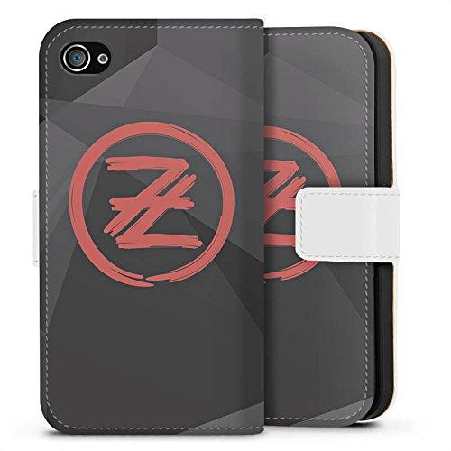 Apple iPhone 6s Hülle Silikon Case Schutz Cover Die Lochis Roman und Heiko Lochmann Fanartikel Merchandise Sideflip Tasche weiß