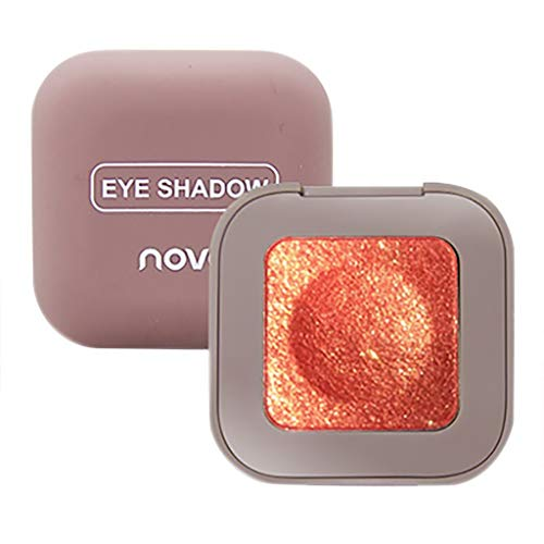 idschatten Puder Tablett Monochrom Gliter Shinning Lidschattenpuder Make-Up Lidschatten Augen Makeup ()