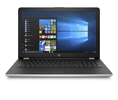 "Foto HP 15-bs045nl Notebook, Intel Core i7-7500U, RAM 12GB, HDD 1TB, AMD Radeon 530, Display da 15.6"", Argento"
