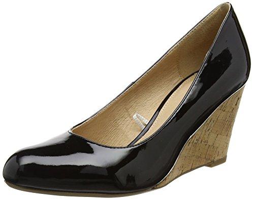 plateau Jelico Nero Shiny Lotus Donna con Scarpe black AwSxq1a