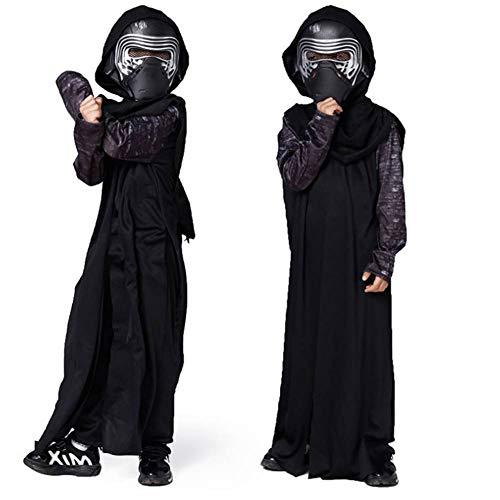 GUAN Samurai Kostüm Kinderkrieger Halloween Leistungskostüm (Jedi Krieger Kostüm)