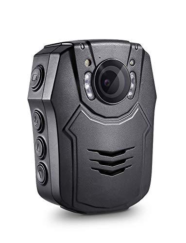 BOBLOV HD 1296P Körper Kamera 32GB Polizei Körper Getragen Video Kamera Sicherheit IR Nachtsicht Cam 32MP Video (PD50 32GB) (Polizei-kamera)