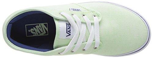 Vans Atwood, Scarpe Sportive-Skateboard Bambina Verde (Grün ((Tie Dye Twill) FPQ))