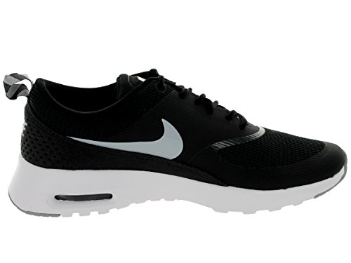 Nike - Air Max Thea, Scarpe Da Corsa da Donna Schwarz (007 BLACK/WOLF GREY-ANTHRCT-WHITE)