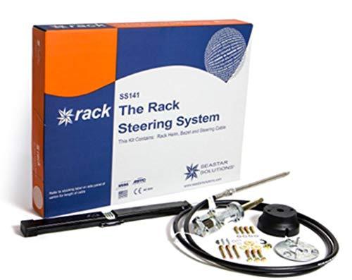 Teleflex Bootslenkung Seastar ''Back Mount The Rack'' Steuersystem mit  Kopf+Kabel+Montagesatz bis 21 Fuß 1 Preis Zahnstangenlenkung Bootssteuerung