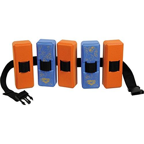 Arena Kinder Schwimmgürtel Flotation Belt JR 2 fast blue/peach orange 3-6 Jahre