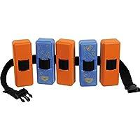 Arena 95190 - Cinturón de natación para niño (de 3 a 6 años), color azul y naranja