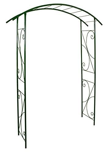 Louis Moulin 3414 Pont Arche Jardin Métal Vert Sapin 148 x 207 cm