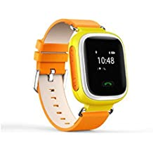 Smart reloj de infantil de GPS Phone Q50, anti-lost SOS Niños Reloj De Muñeca De GPS Teléfono GSM desbloqueado cuatribanda