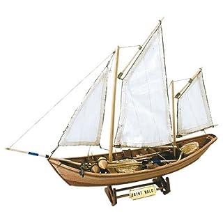 Artesanía Latina 19010 - Modell aus Holz: Saint Malo 1/20