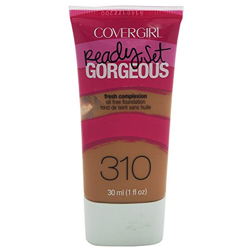 COVERGIRL Ready, Set Gorgeous Liquid Makeup Foundation Classic Tan 1 Fl Oz by COVERGIRL