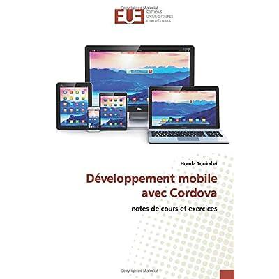 Développement mobile avec Cordova: notes de cours et exercices