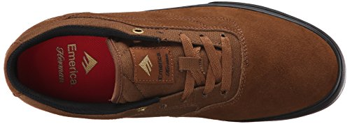 Emerica - The Herman G6 Vulc, Scarpe Da Skateboard da uomo Marrone (Marron (Brown/Black/201))