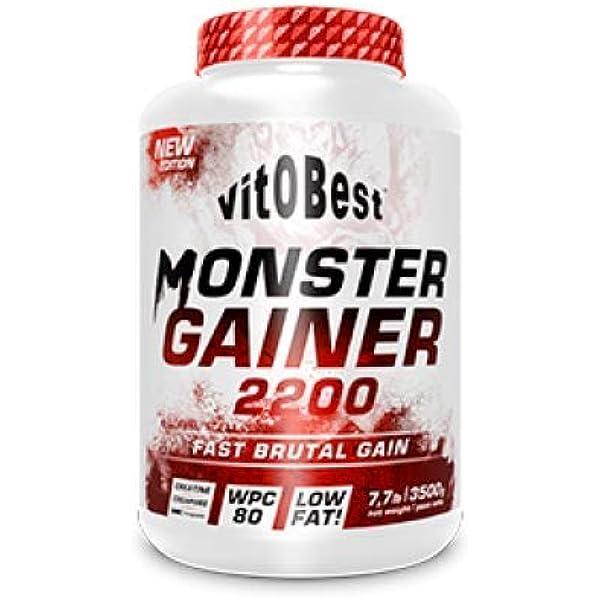 Carbohidratos MONSTER GAINER 2200 - Suplementos ...