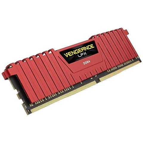 CORSAIR 32GB (2 x 16GB) Vengeance LPX DDR4 PC4-19200 2400MHz 288-Pin Desktop Memory Model CMK32GX4M2A2400C14R