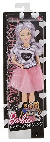 Image of Barbie DVX76 Fashionistas Tutu Cool Petite Doll