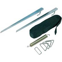 OLPro - Kit de sujeción para toldos de remolque, color verde
