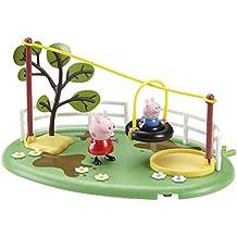 Peppa Pig - Figuras de Peppa Pig con parque de juegos