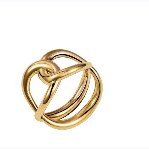 CK Damen-Ring Edelstahl rhodiniert Gr. 57 (18.1) - KJ44CR020108
