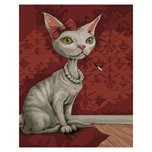 Puzzle 3D Puzzle 1000 Piezas Gatito Sin Pelo Perla Gato Animal Diy Arte Moderno De La Pared Regalo Único Decoración Para El Hogar
