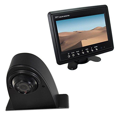 maxxcount Set: Rückfahrkamera Transporter + Stand-Alone Monitor 17,8cm (7 Zoll) für Crafter Sprinter Viano Ducato Vans Lcd Stand Alone Monitor