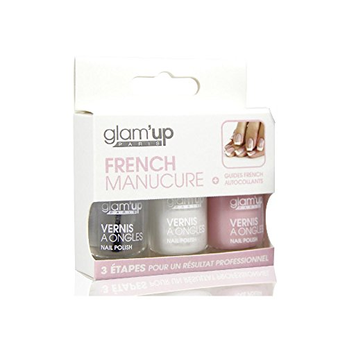 GLAM UP - Kit French Manucure Vernis Fabrication Européenne