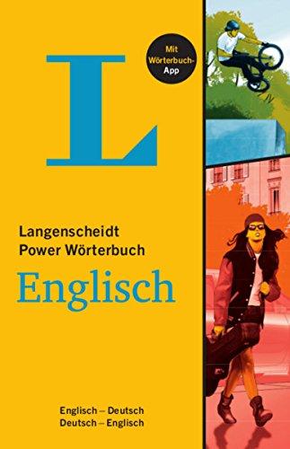 Langenscheidt Power Wörterbuch Englisch - Buch mit Wörterbuch-App: Englisch-Deutsch/Deutsch-Englisch (Langenscheidt Power Wörterbücher) - Wörterbuch Stand