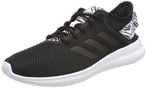 adidas CF Qtflex W, Scarpe Running Donna, Nero Cblack/Ftwwht, 36 2/3 EU