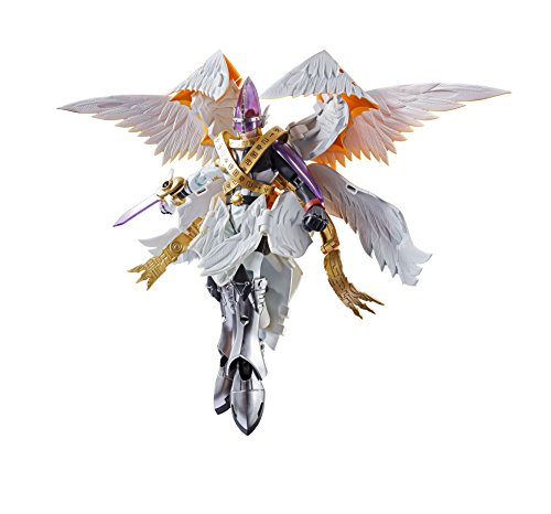 Bandai Tamashii Nations Digivolving Spirits Digimon Adventure 07 Holy Angemon Holy Enjemon Patamon About 165 mm ABS PVC Die Cast Movable Figure