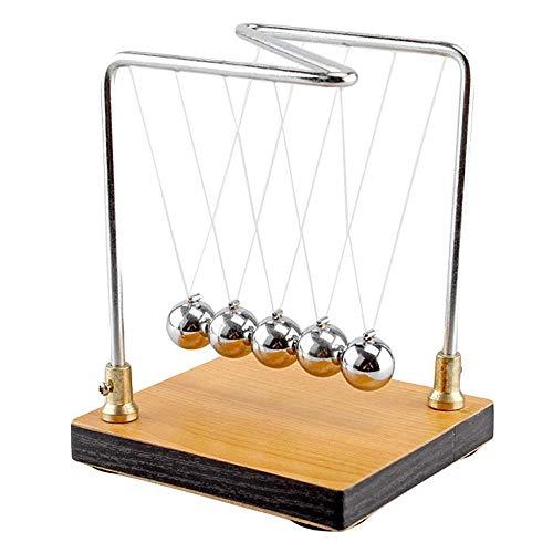 WJGJ Physikalische Kollision Kugel Experiment Lehre Equipment Newton Kollision Kugel Schwingen Energy Conservation Law Impulserhaltungssatz Kollisionsballphysik Experimentelle Lehre Equipment