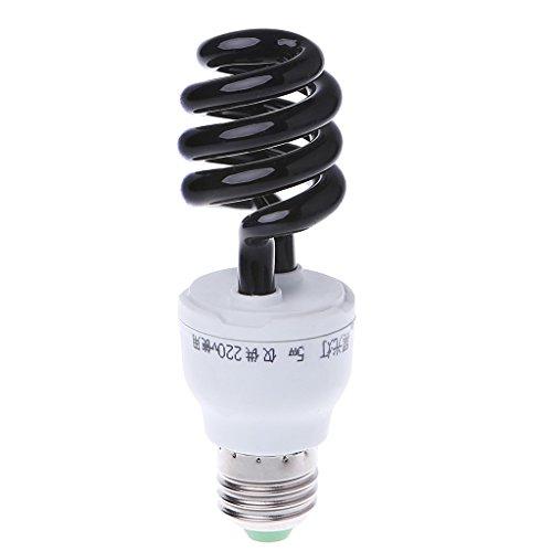 UOTA E27 5/15/20W UV ultravioleta fluorescente luz negra CFL lámpara 220 V