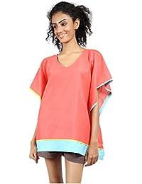 GRASS by Gitika Goyal Women's Plain Regular Fit Cotton Shirt