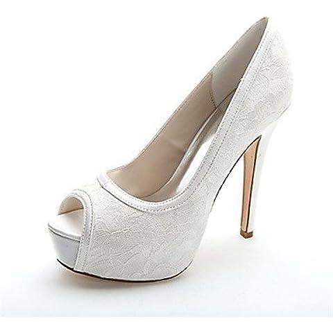 MissBoot Pompe di scarpe più colori disponibili piattaforma scarpe peep