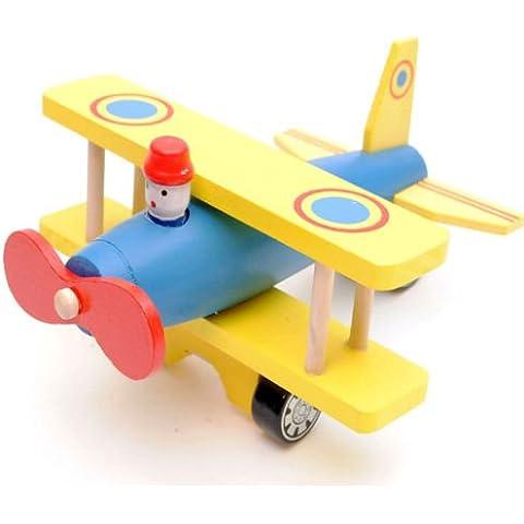 ¡Tome a los cielos en este avión de madera!