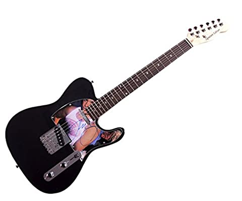 John Cougar Mellencamp Signed Album LP Tele Guitar AFTAL UACC RD COA
