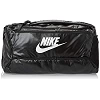 Nike Unisex-Adult Duffel Bag, Black/White - NKBA6395-10